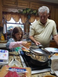 Cooking with Papa